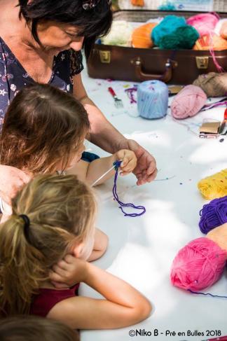 Atelier bulles de laine