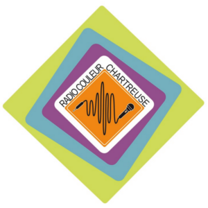 logo radio couleur chartreuse