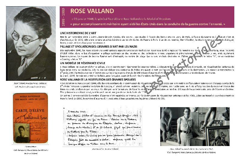 Rose valland